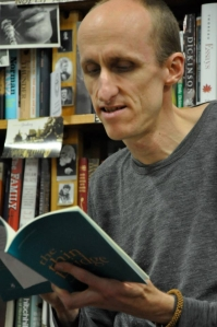 Andy Jackson reading from his work